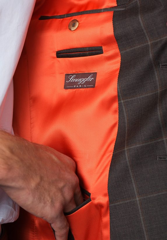 SMUGGLER - VESTE INTERIEUR ORANGE